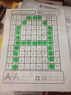 Coyne's Crazy Fun Preschool Classroom: Letter Activities Everywhere!