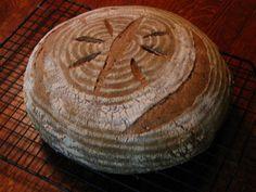 Whole Grain sourdough Bread . 20 Of the Best Ideas for whole Grain sourdough Bread . Traditional whole Grain sourdough Whole Grain Sourdough Bread Recipe, Best Whole Grain Bread, Sourdough Recipes, Bread Recipes, Roasted Banana, Artisan Bread, Bread Rolls, Daily Bread, How To Make Bread
