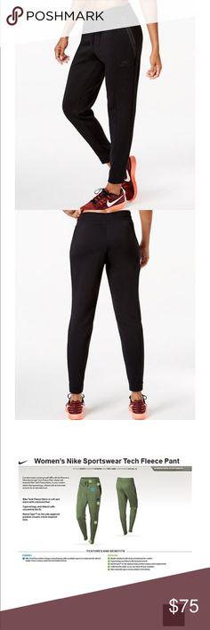 Women's Nike Tech Fleece Pants Excellent condition. Worn twice Nike Pants Track Pants & Joggers