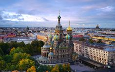 St Petersburg, Russia The 50 Most Beautiful Cities in the World - Condé Nast Traveler St Petersburg Russia, Places To Travel, Places To See, Travel Destinations, St Pétersbourg Rússie, Place Rouge, Abstract City, Belle Villa, Destination Voyage
