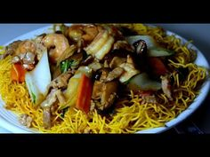 For stir fry noodles lovers, here another cooking video that most ordered entry menu in Chinese restaurant by Chinese diners. Noodles are separately shallow ...