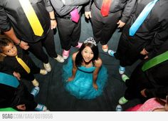 Someone's sweet 16, the ties and shoes idea is adorable!