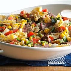 Grilled Southwestern Steak Salad Recipe from Taste of Home