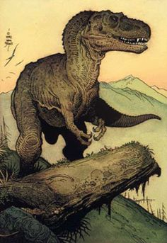 William Stout Natural History Art Artist Dinosaurs Prehistoric Animals