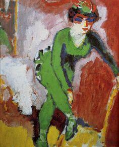 039[amolenuvolette.it]1905 kees van dongen la femme au collant vert .jpg (2115×2621)