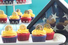 USMC CUPCAKES | Marine Corps Birthday Cupcakes – Rhubarb Cupcakes with Lemon ...