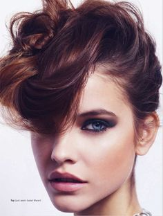 It's any which way but loose for Barbara Palvin.