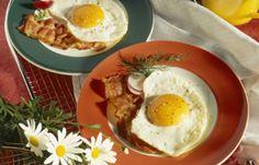 Frühstücksrezepte Low carb Diät: Spiegelei mit Schinkenspeck - Low carb Diät: Die besten Tipps & leckere Rezepte