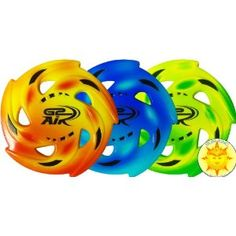 G2 Air Foam Flying Disc $6.99. These look sealed though...prob don't absorb water and fling it.