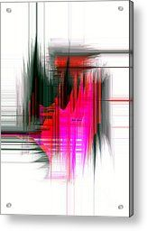 Abstract 9596 Acrylic Print by Rafael Salazar