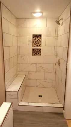 White Tile Kerdi Drain Schluter Kerdi Board Shower Niche