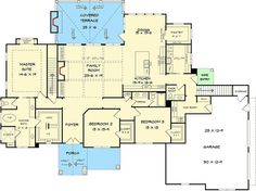 Striking Craftsman with Option for 5 Beds - 36076DK | Architectural Designs - House Plans