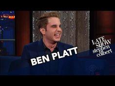 "Watch Tony Nominee Ben Platt Sing Dear Evan Hansen's ""For Forever"" on The Late Show Ben Platt, Late Night Talks, Cbs All Access, Dear Evan Hansen, Live Tv, Funny Moments, Movie Stars, Crying, Theatre"