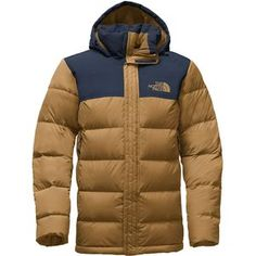 Whether you're watching champion skiers compete or battling high mountain snowbanks, The North Face Men's Nuptse Ridge Down Parka will keep you warm. Filled with certified RDS down, this jacket offers peace of mind and lightweight refuge from winter cold. The durable nylon shell is reinforced with a two-layer waterproof overlay on the hood and shoulders for additional protection from the elements. With a fully adjustable, fleece-lined hood and a longer parka length, this jacket takes on cold…