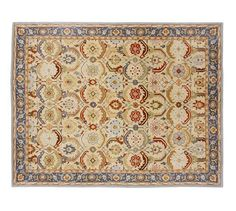 Eva Persian-Style Rug   Pottery Barn  would love this somewhere in our newly remodled flat, but where?  how does one decide?!!!