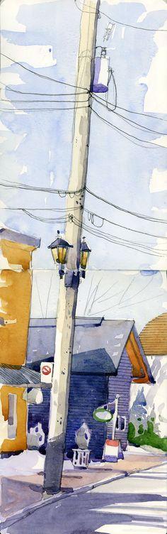 Shari Blaukopf, houseshadow.jpg 750×2,390 pixels