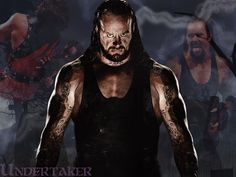 The Deadman a.k.a. The Undertaker! I've been a fan of his since I was 7 years old as well.
