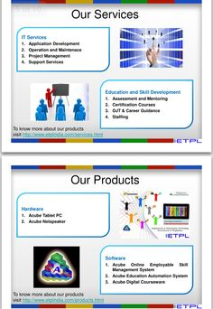 services /products offered by ETPL. Inviting for partnerships across all states in India.Interested ! Contact us!!