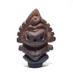 木彫り土偶13号