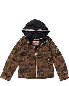 Scotch&Soda: stylische Jacke im Camouflage-Muster. Die coole Kapuze rundet das Design gekonnt ab. http://www.mawaju.de/scotch-soda-boys-jacke-camouflage-31902-camouflage.html