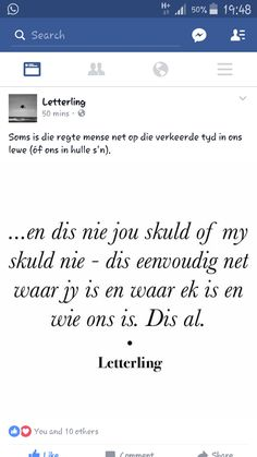 Afrikaanse Quotes, Aerobics Workout, Poetry, Language, Wallpapers, Feelings, Words, Wall Papers, Wallpaper