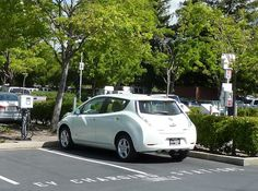 Wordless Wednesday  Source: San Ramon PG Car Charging Station