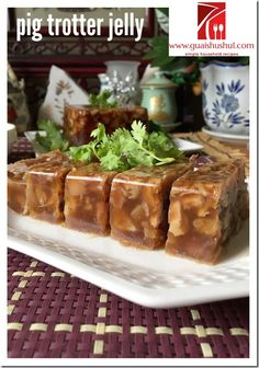 - Chinese New Year Archives - Page 3 of 13 - Guai Shu Shu Prawn Dishes, Tofu Dishes, Asian Appetizers, Appetizer Dishes, Pork Jerky, Pork Hock, Asian Pork, Braised Pork, Dog Food Recipes