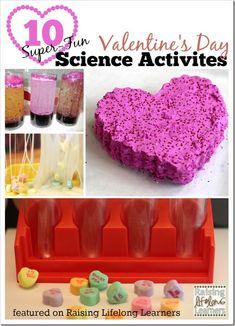 Super-Fun Valentine's Day Science Activities | RaisingLifelongLearners.com