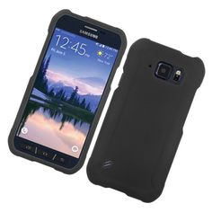 Insten Hard Snap-on Rubberized Matte Case Cover For Samsung Galaxy S6 Active #2215051