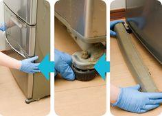 【年末大掃除の裏技】冷蔵庫はカンタンに移動できるって、知ってました?