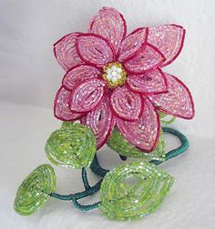 French Beaded Flower Patterns | Patterns Gallery