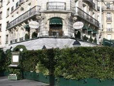 Paris - la closerie des lilas. The cafe Hemmingway wrote in.
