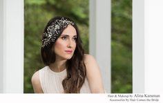 "Dramatic Rhinestone Vine ""Amelia""  by Hair Comes the Bride - Hair and Makeup by Alina Karaman"