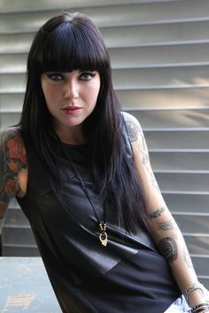 Alexis Krauss of Sleigh Bells. [Photo by Jenna Greene]
