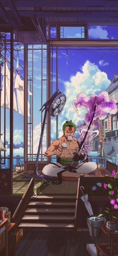One Piece Anime, Zoro One Piece, One Piece Comic, One Piece Fanart, One Piece Wallpaper Iphone, Anime Wallpaper Phone, Cool Anime Wallpapers, Animes Wallpapers, Roronoa Zoro