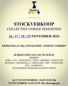 Stockverkoop Theodoor (kinderschoenen) -- Hamme -- 16/11-18/11