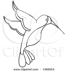 hummingbird wire art royalty free stock illustrations of coloring pages by pams clipart