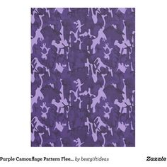 Purple Camouflage Pattern Fleece Blanket ($32) ❤ liked on Polyvore featuring home, bed & bath, bedding, blankets, camouflage blanket, camoflauge bedding, fleece bedding, camo fleece blanket and camoflage bedding