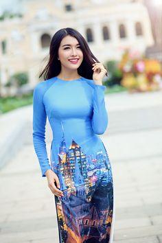 Vietnam modern Ao Dai