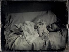 Post-mortem, unidentified young girl