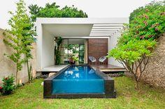 Little casita and pool @ Casa Cardenas via An Urban Village