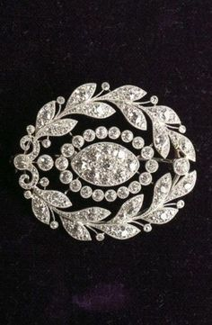 Marquise Cut Vintage Style Handmade Brooch Pin 925 Sterling Silver Cz Gift New* #NikiGems