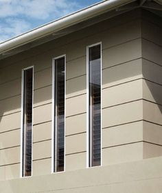 house designs with vertical metal cladding - Google Search Larch Cladding, House Cladding, Stone Cladding, Facade House, Cladding Design, External Cladding, Cladding Materials, Home Insulation, House Prices