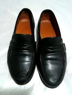 Allen Edmonds Bergamo Dress Slip On Loafers Black Men s 12 D 5b823c030f5