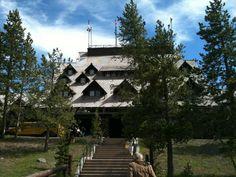 Old Faithful Inn - Yellowstone National Park, WY