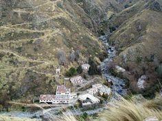 R- Cerro Áspero: Conoce un pueblo escondido entre paisajes de montañas, arroyos y cascadas, limite entre Córdoba y San Luis- Argentina.