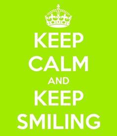 Stay Strong, Keep Calm, Smile!!    www.facebook.com/vodacom4u