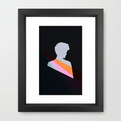 Alone Framed Art Print by Leandro Pita - $35.00