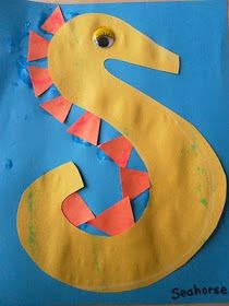S is for Seahorse... And MANY S activities