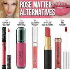 Jeffree star rose matters dupes